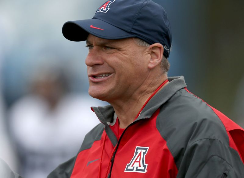 Image result for arizona coach rich rodriguez