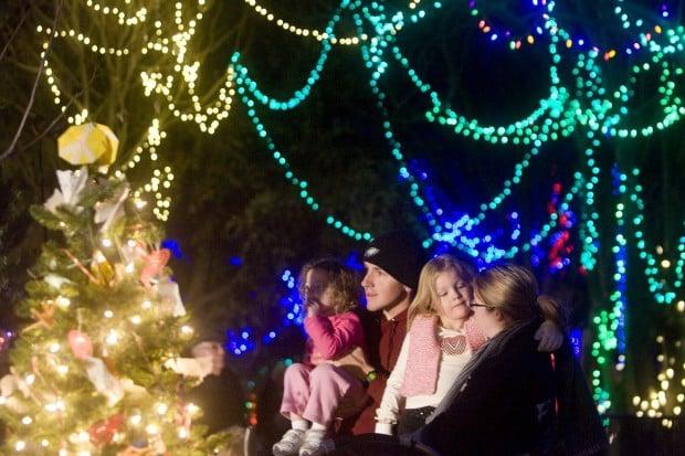 Zoo Lights Tucson Az 2017