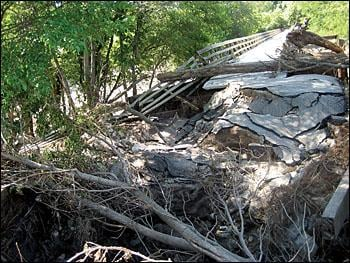flood damage closes much of cedar valley nature trail local news