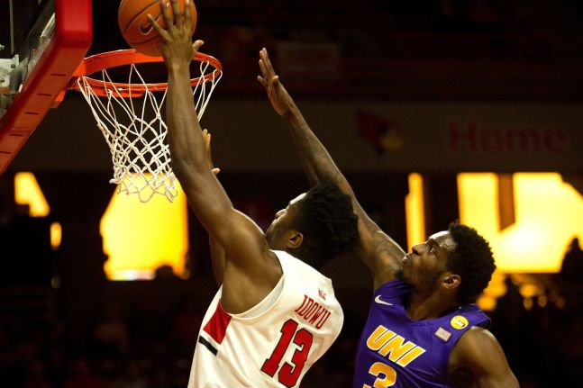 Image result for Illinois State Redbirds vs Northern Iowa Panthers College Basketball 2019