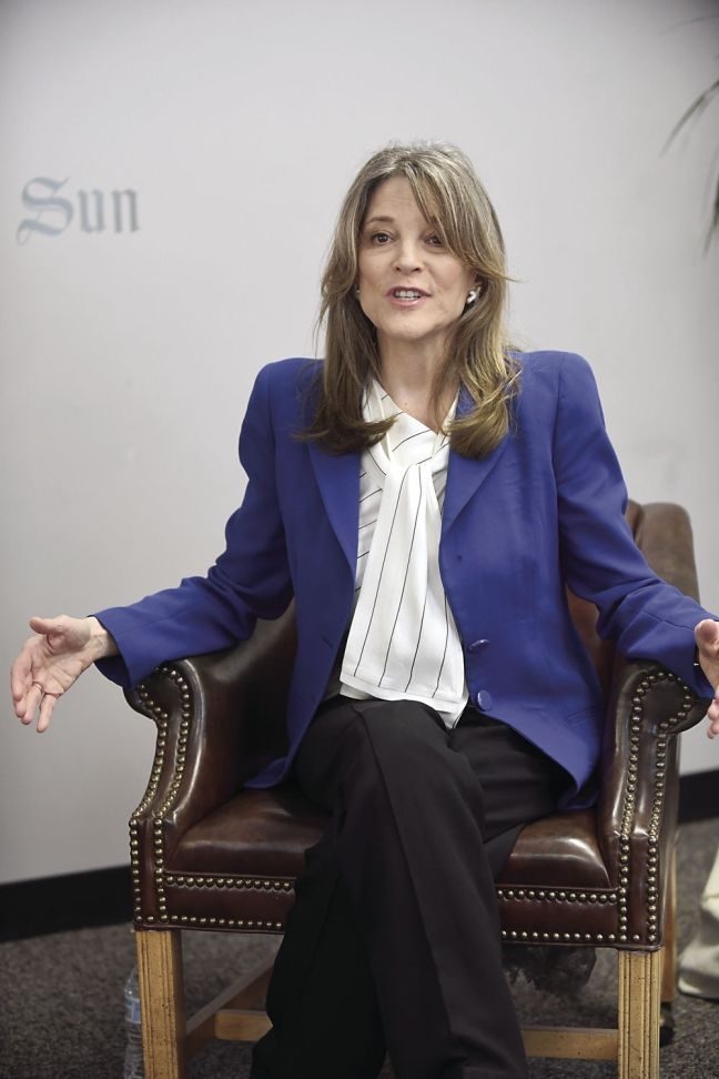 4-16-19 Marianne Williamson