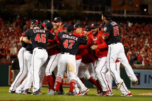 Nats are World Series bound