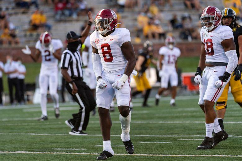 Christian Harris more confident at linebacker for Crimson Tide | Alabama |  dothaneagle.com