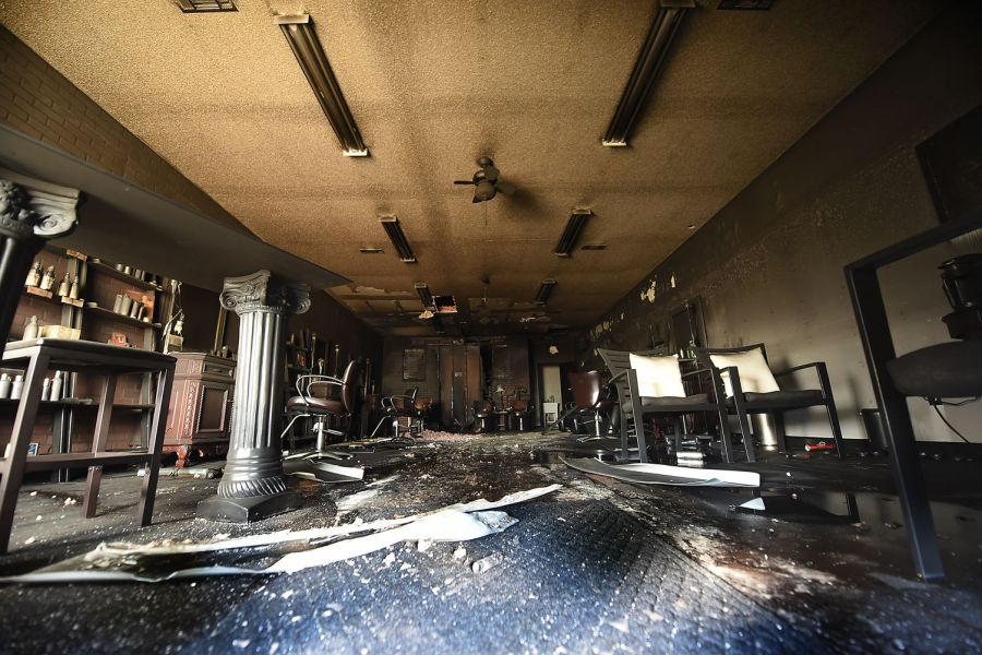 Dothan hair studio damaged by fire   Local   dothaneagle com Dothan hair studio damaged by fire
