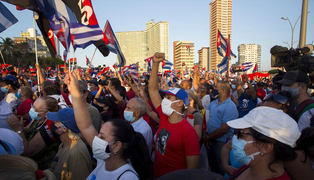 Manifestación Cuba