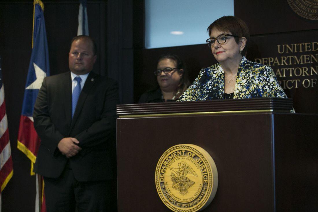 En la foto, Rosa Emilia Rodríguez, jefa de Fiscalía federal.