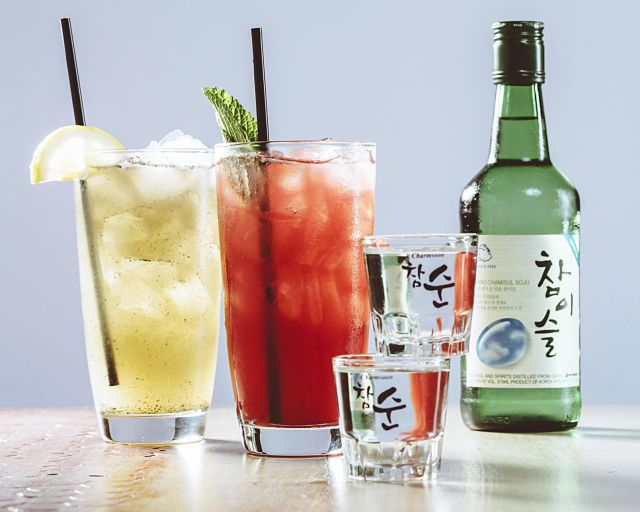 Resultado de imagen de seoul soju martini