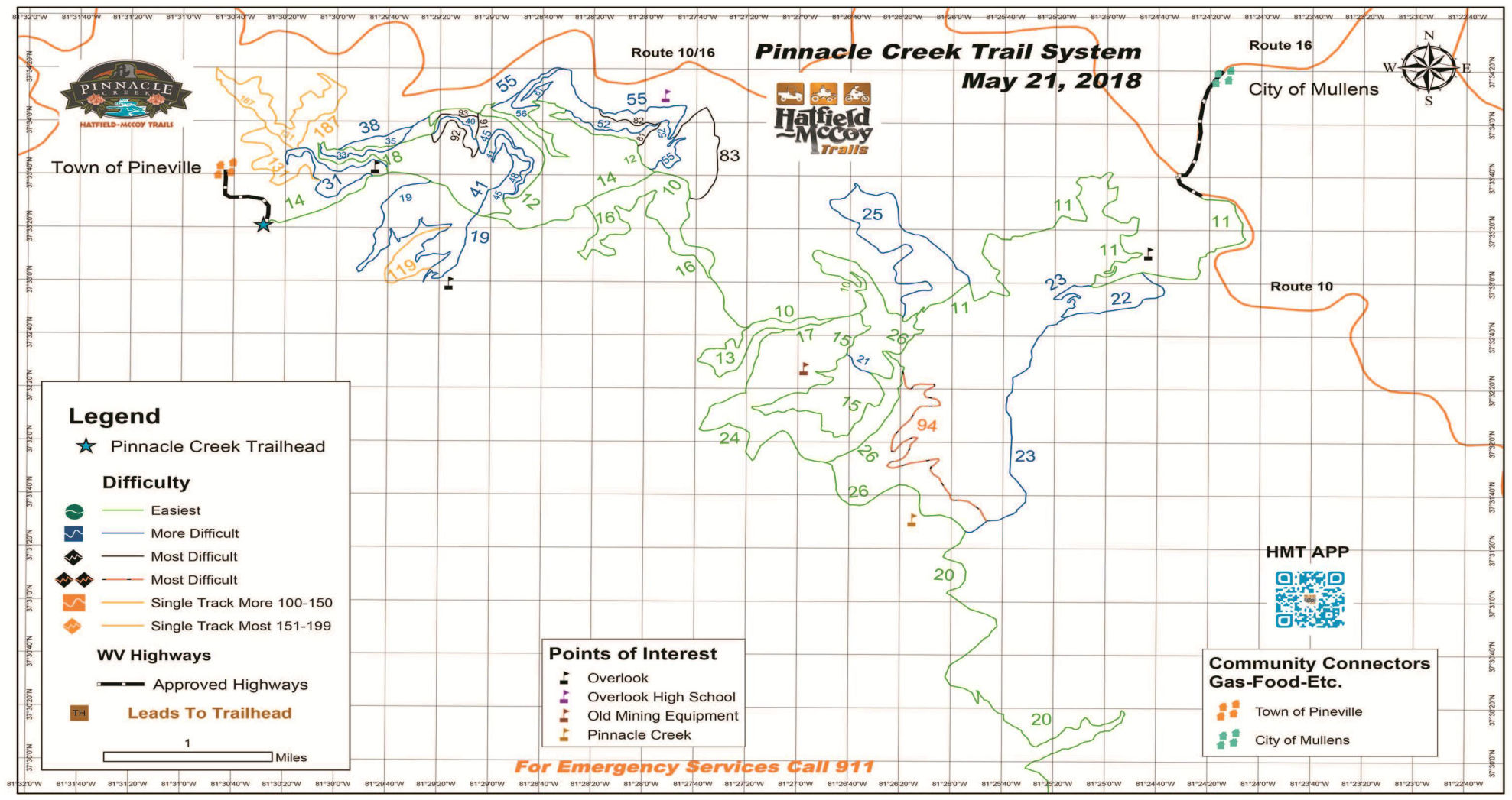 Hatfield And Mccoy Trail Map Maps Catalog Online