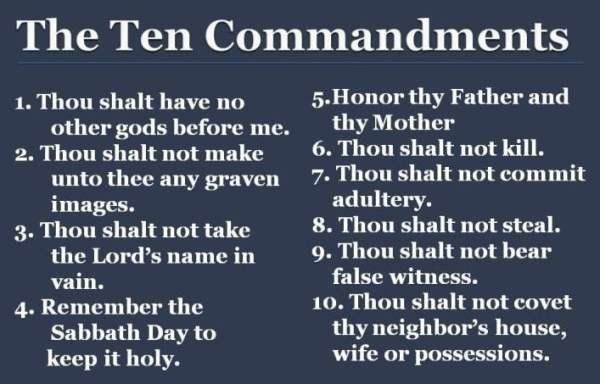 10 commandments # 81