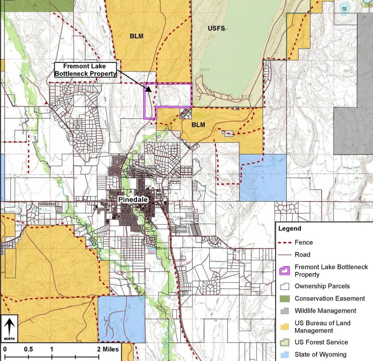Wyoming Deer Unit Map H