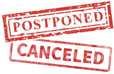 The Latest Covid 19 Related Cancellations And Postponements