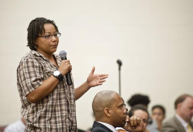 gun violence discussion at WSSU