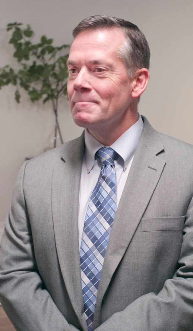 David Horton, executive director of Industries for the Blind in Winston-Salem