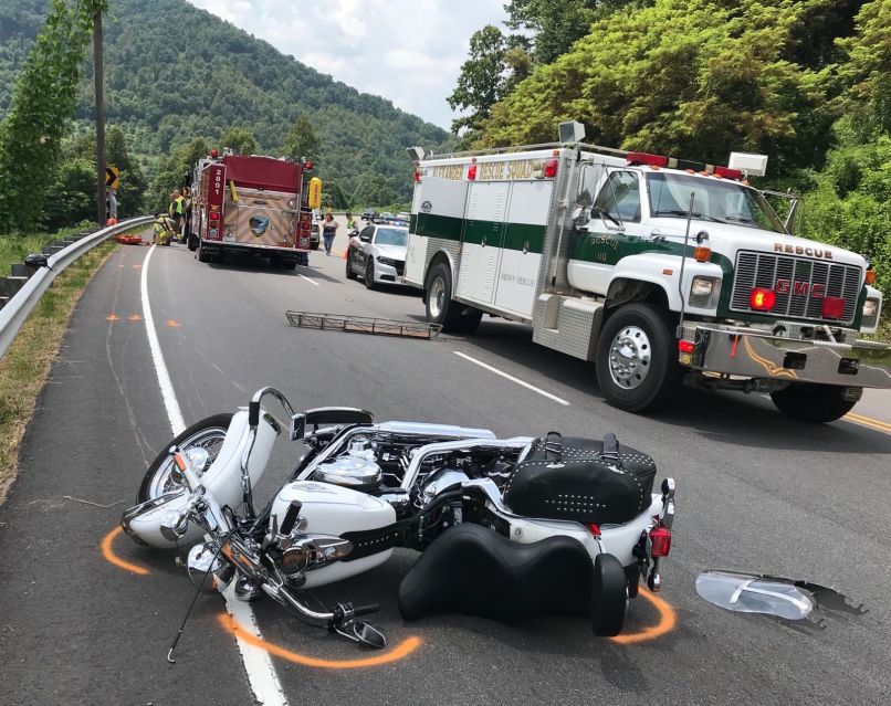 Man S In Motorcycle Accident On N C