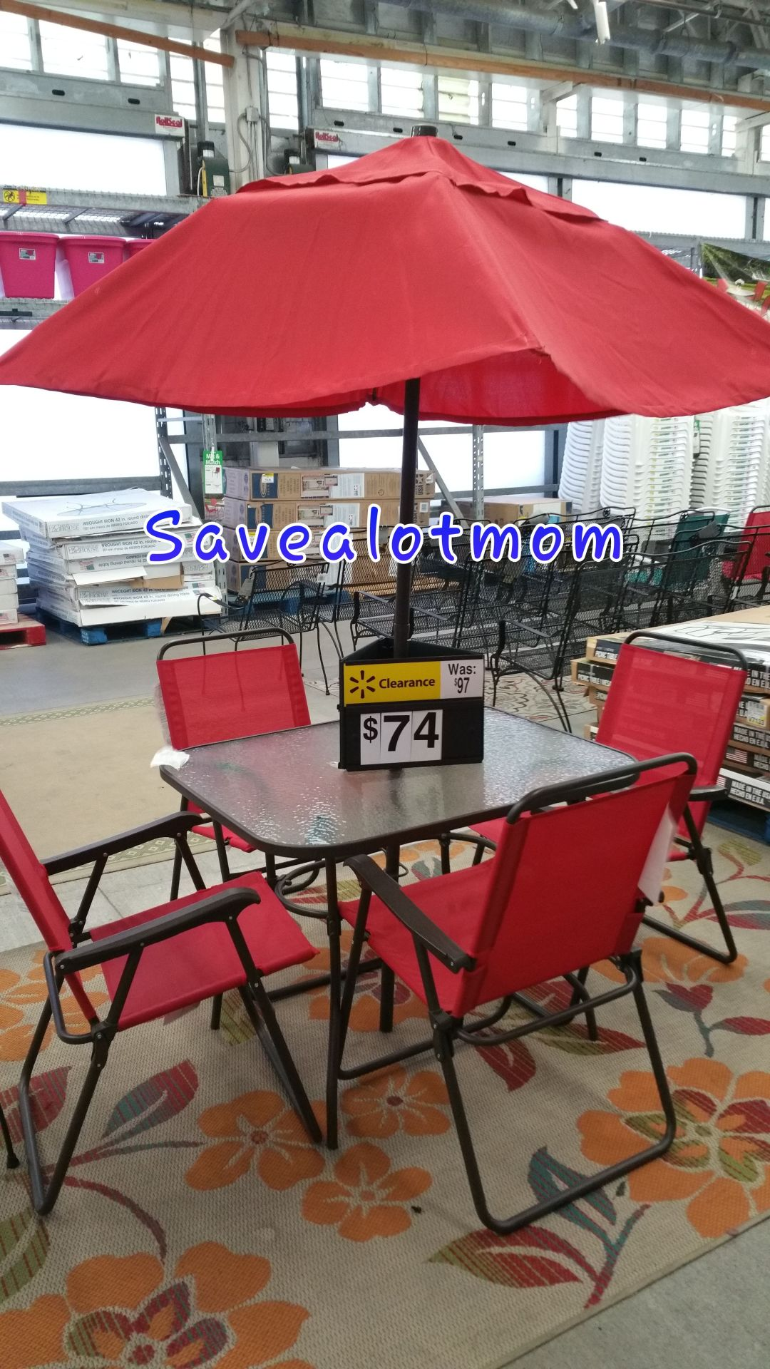 clearance at walmart outdoor furniture