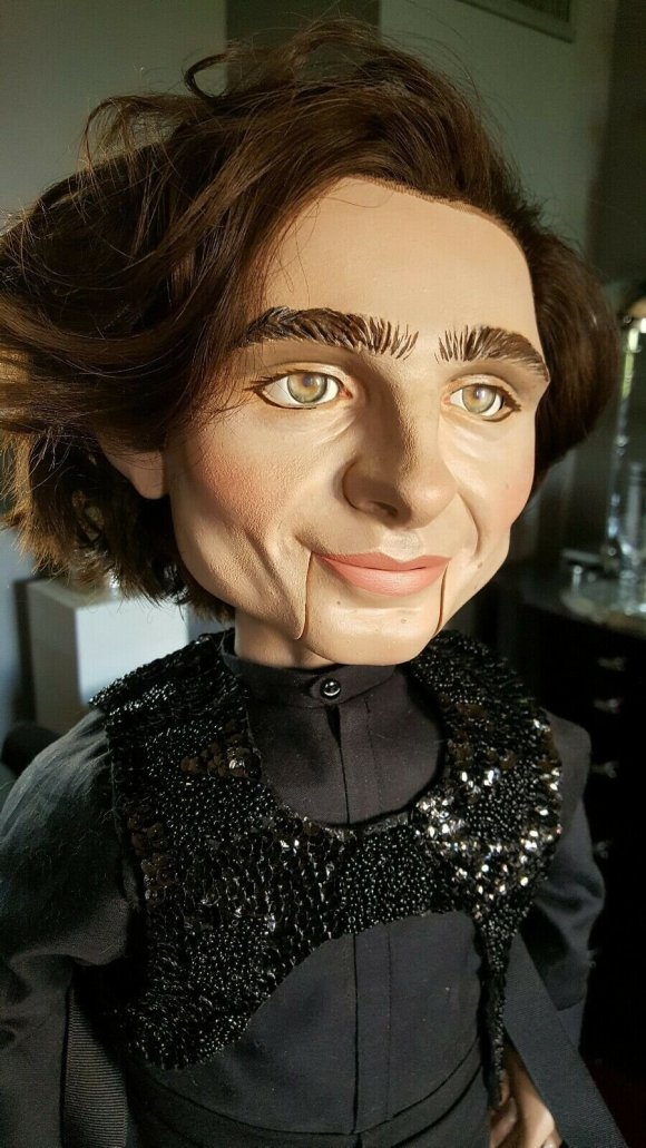 Viral Timothée Chalamet ventriloquist dummy -- that was on eBay ...