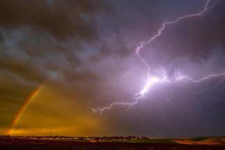 Stunning Sky Over Idaho Pictures God's Love and God's Wrath
