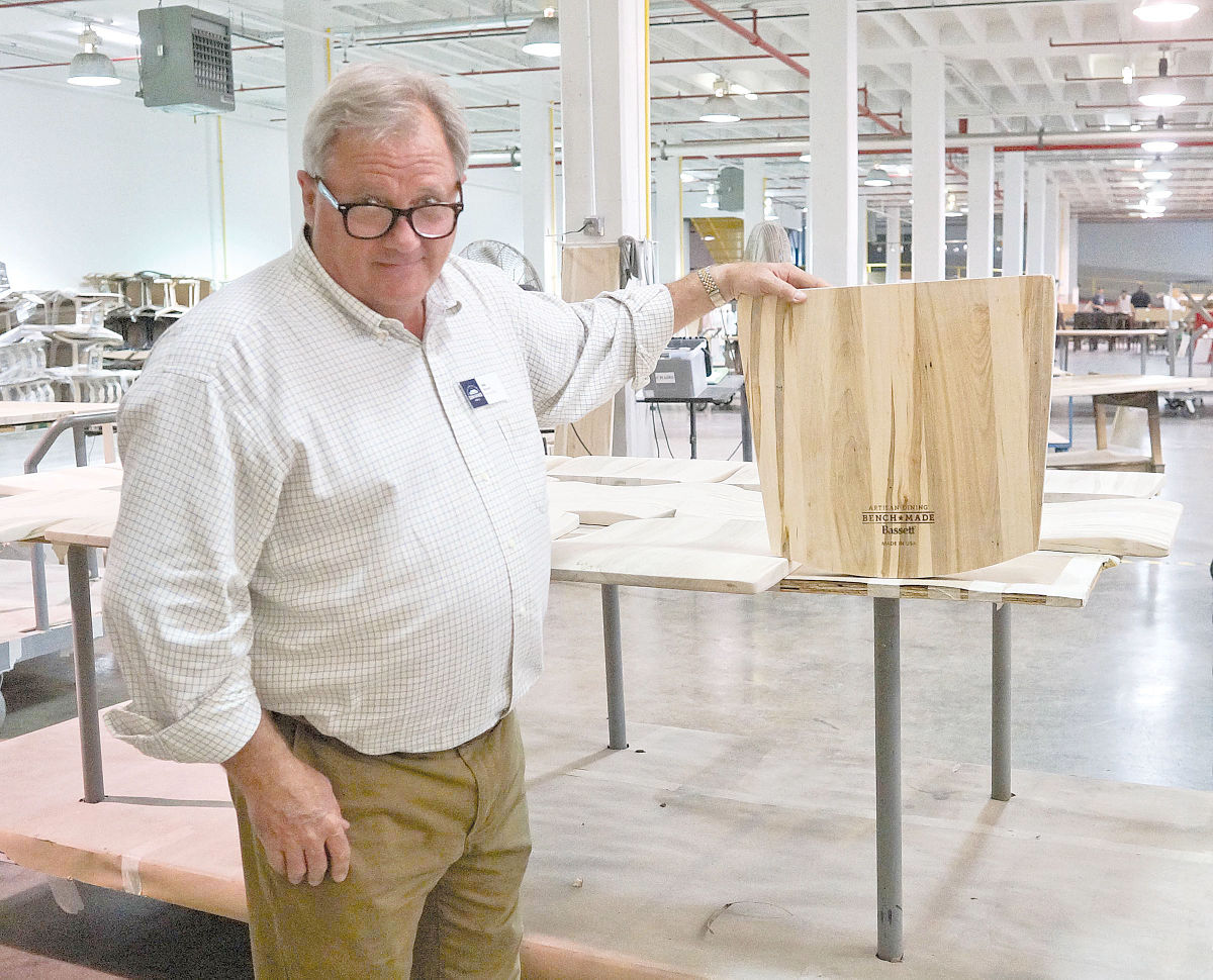 bassett furniture hosts retailers for