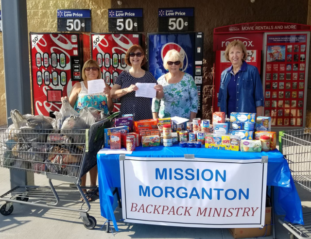 Mission Morganton backpack ministry photo