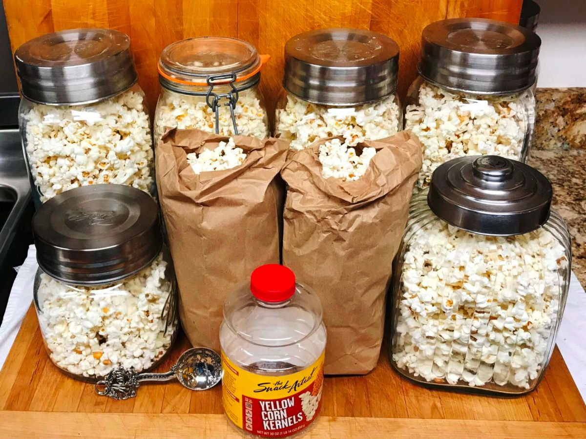 versus microwavable popcorn