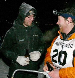 2013 Yukon Quest Jake Berkowitz courtesy of Sam Harrel/ Fairbanks Daily News Minor