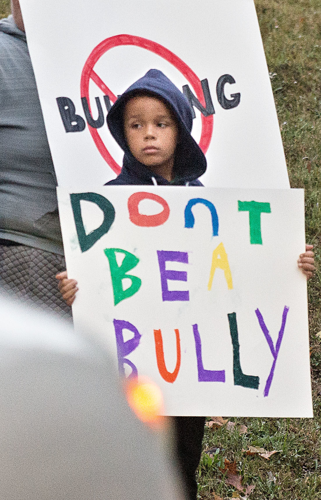 Parents Protest Bullying At Middle School