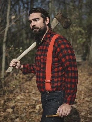 Flannel: Lumberjack style