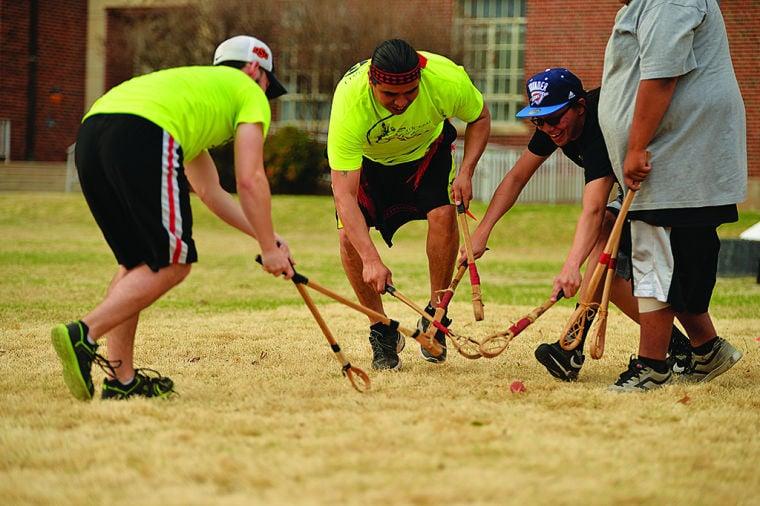 Native American Student Association Hosts Stickball Game News