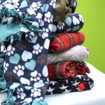 Cozy Up To These No Sew Fleece Blankets The Entire Family Can Make Together Momaha Omaha Com