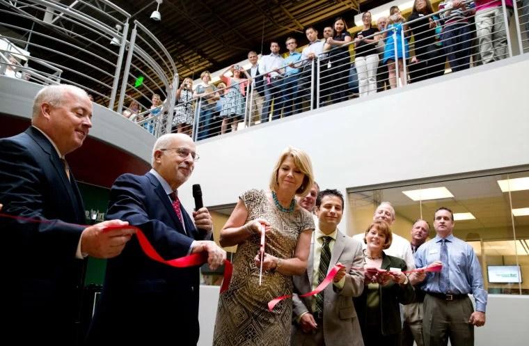 Nebraska Furniture Marts New Omaha Headquarters Has