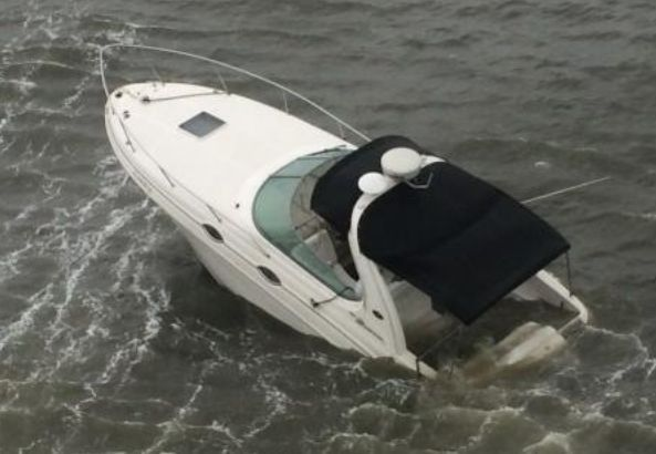 Coast Guard Rescues Man From Sinking Boat Near Kiawah Island Archives