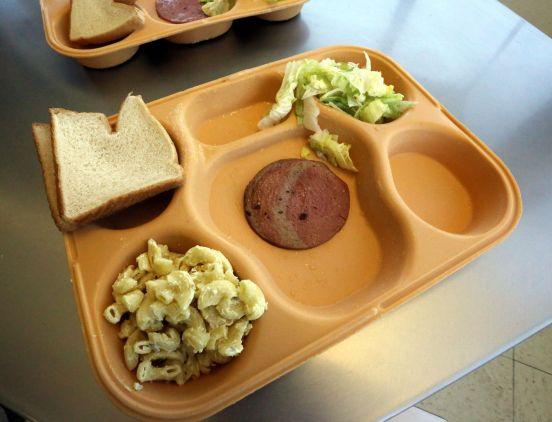 Image result for federal prison meals