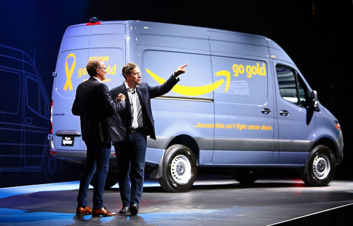 Amazon To Buy Thousands Of Mercedes Benz Vans Made In