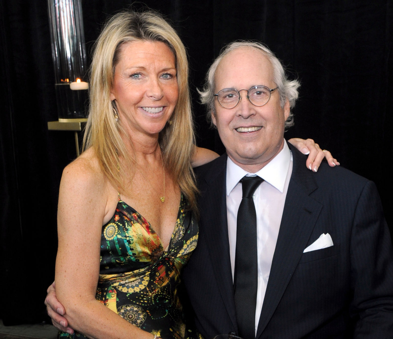 Environmental award brings Jayni and Chevy Chase to South Carolina     12th Annual Starkey Hearing Foundation  So The World May Hear  Gala