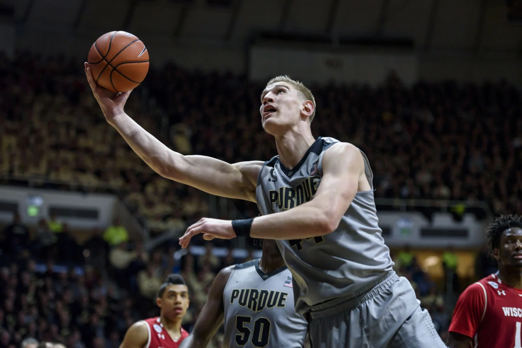 Image result for isaac haas purdue