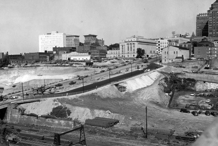 PHOTOS Construction Of The Richmond Petersburg Turnpike
