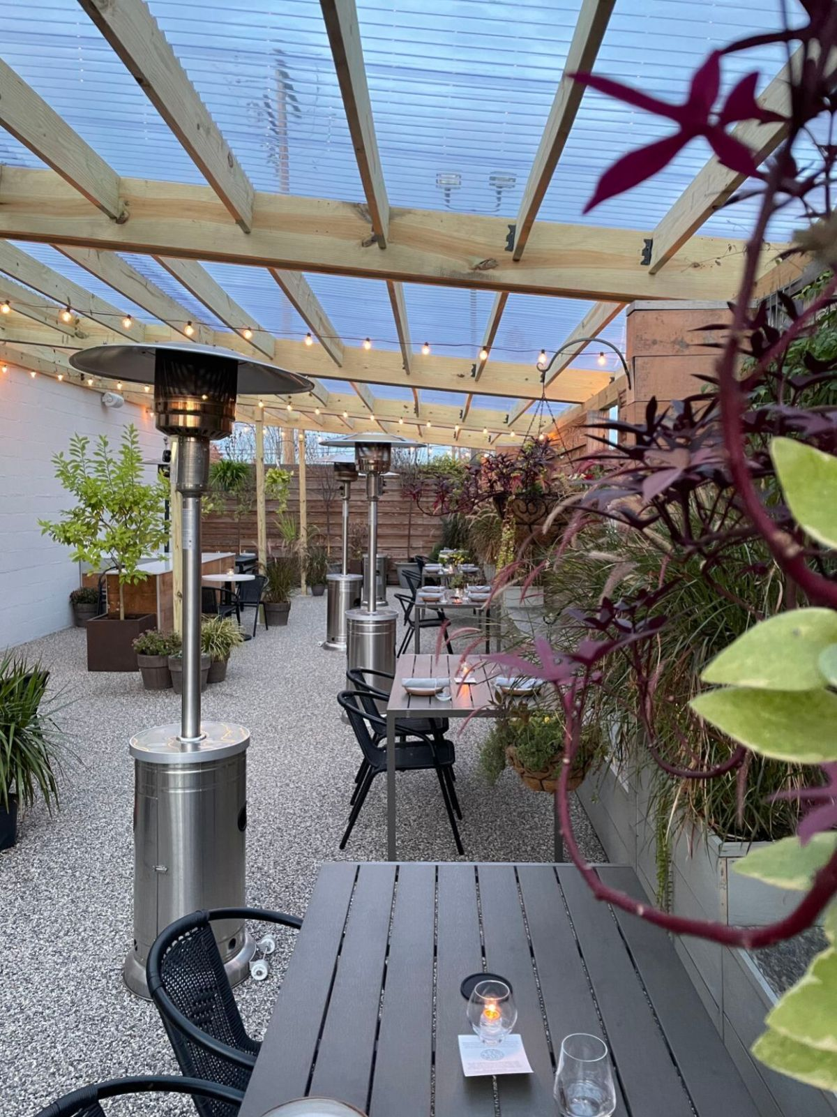 heated and covered richmond patios