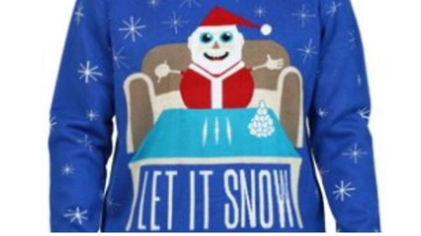 Walmart pulls Christmas sweater that mixed Santa with cocaine