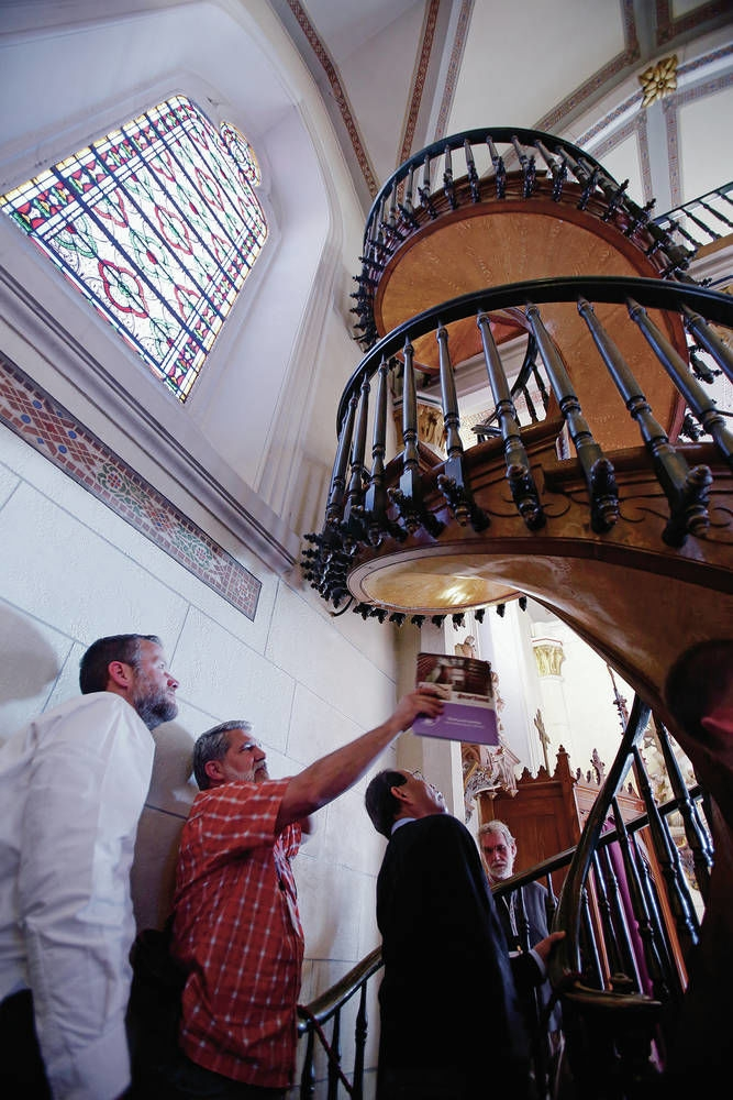 Experts Consider Miracle Stairs In Santa Fe S Loretto Chapel | Spiral Staircase Loretto Chapel | St Joseph | Immaculate | Gothic | Dangerous | Medieval