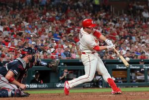 Gyorko's three-run HR in eighth helps Cards get above .500