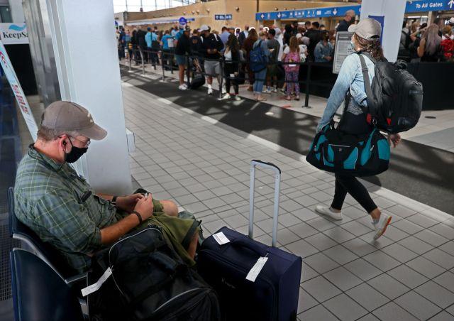 Delays at Southwest Air slow travel at Lambert