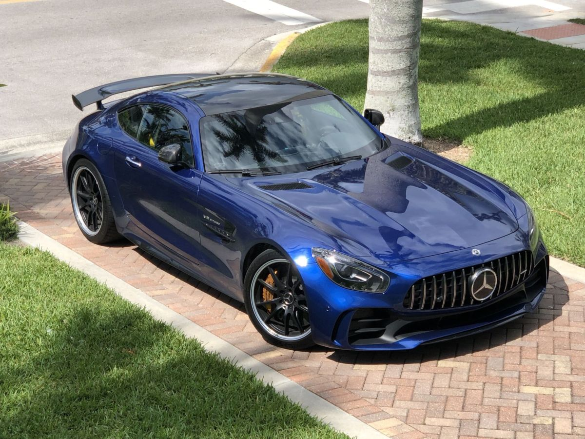 The 2018 Mercedes AMG GTR Is A Blast From The Past