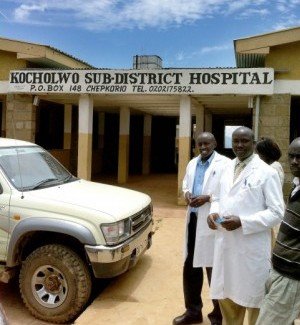 Rick Majzun, vice president, strategic operations and planning at Children's Hospital, St. Louis, visited a 20 bed hospital in Kenya's Rift Valley as part of his 2011 Eisenhower Fellowship in September 2011. Handout Photo