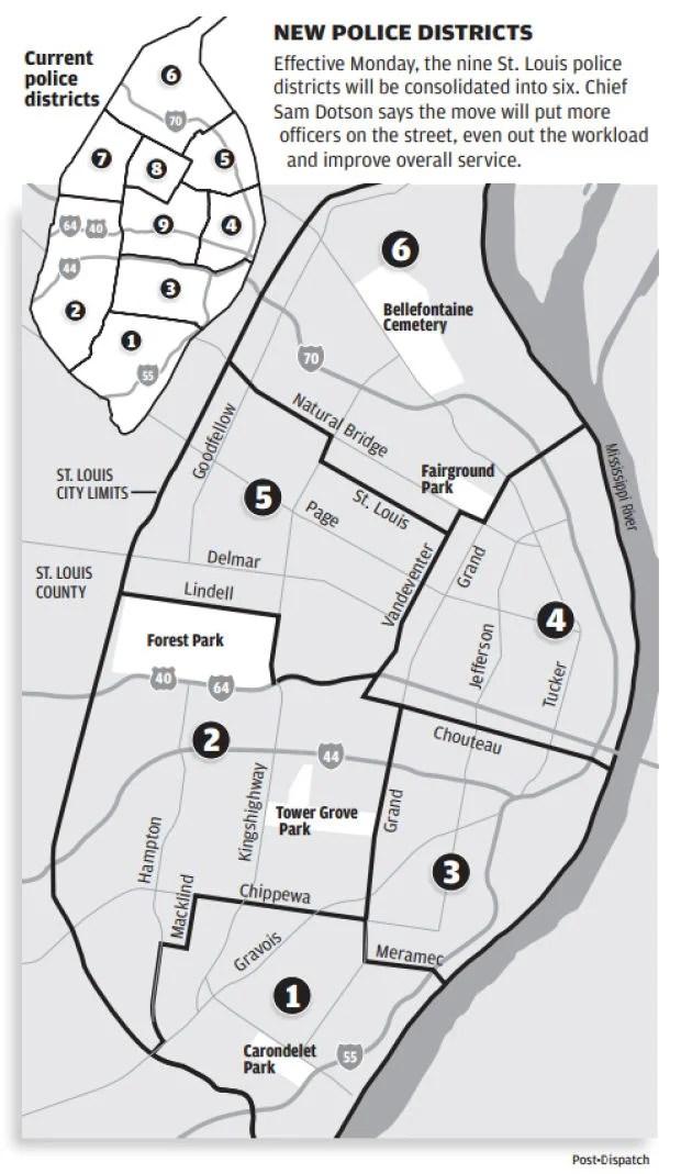 Crime Map St City Louis
