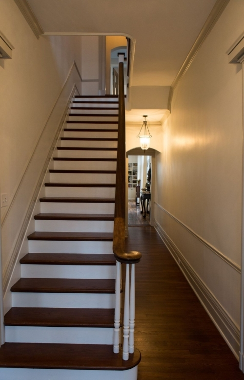 Stairs Lead To The Second Floor Multimedia Stltoday Com   Stairs To Second Floor Design   Bathroom Next   Space Saving   Square Shaped   Kitchen   Stairway