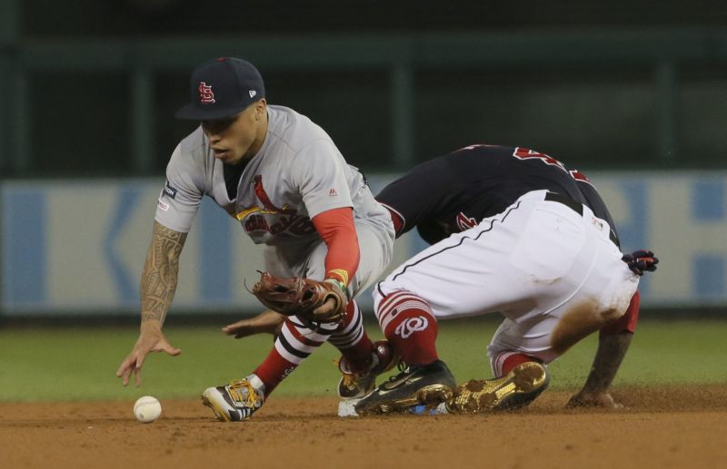Washington completes four-game NLCS sweep by holding off Cardinals 7-4