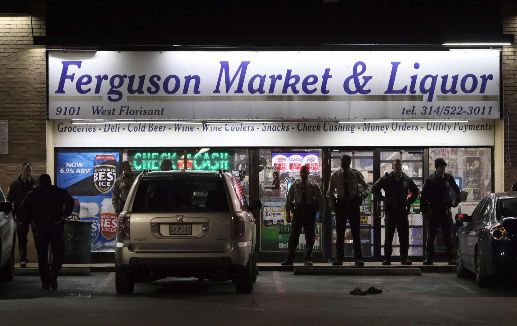 Image result for ferguson market and liquor