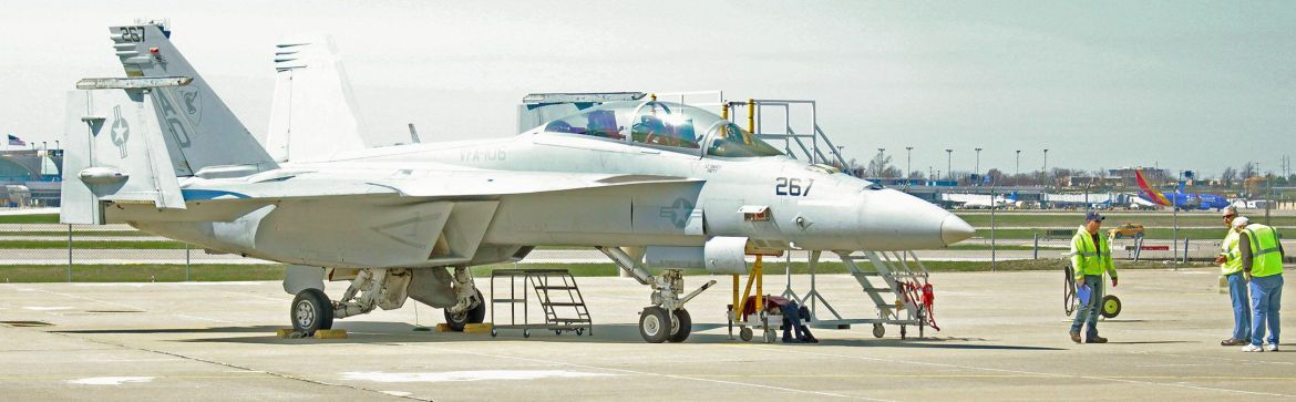F/A-18 Super Hornet delivered to Boeing