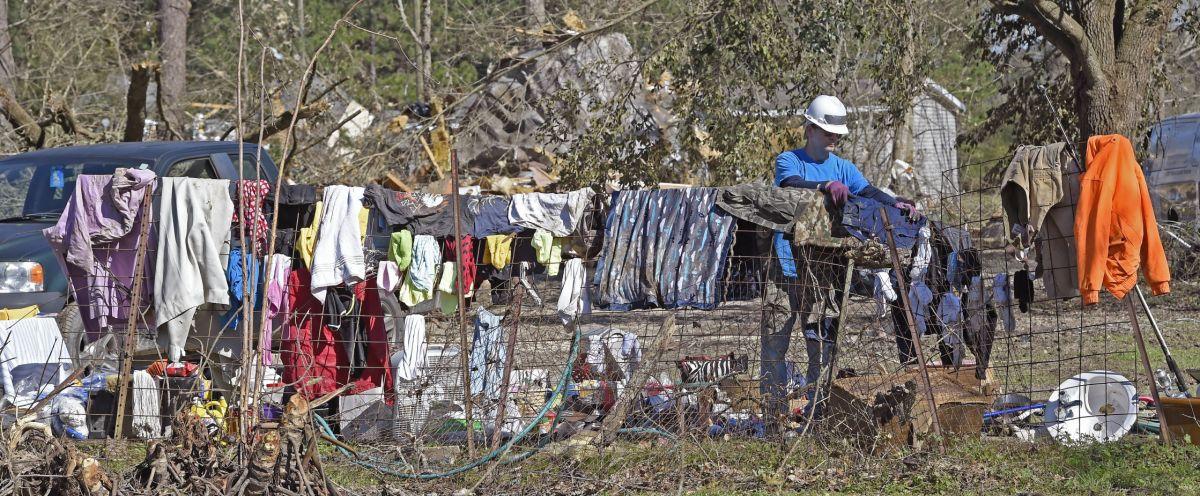 Trailer Homes During Tornado