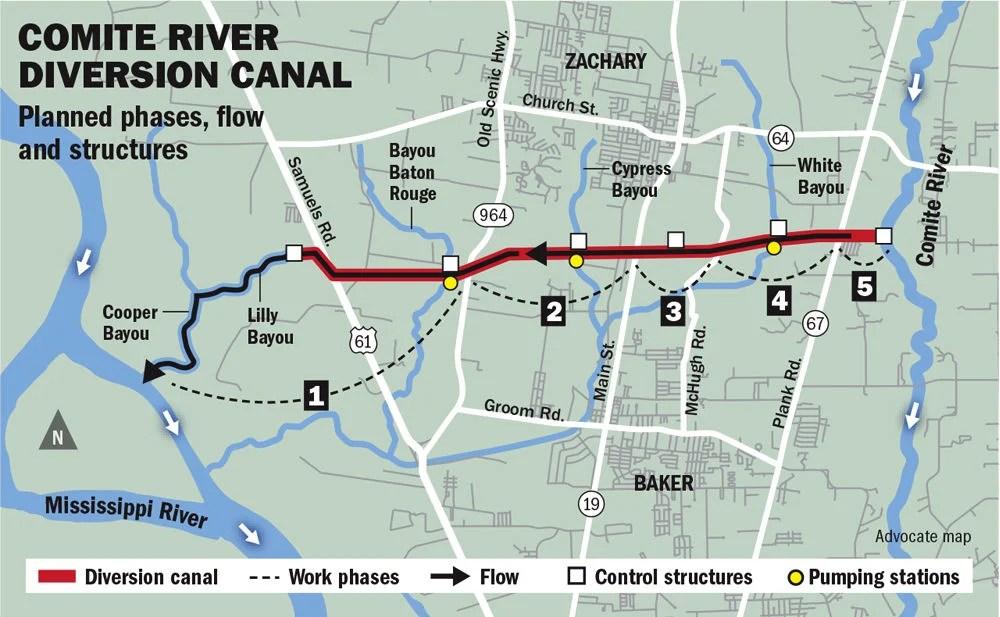 Map West Baton Rouge Louisiana